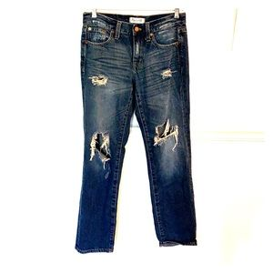 "Madewell ""boy jean"" size 24."